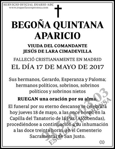 Begoña Quintana Aparicio